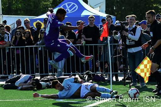 Pacific FC of the Canadian Premier League defeated the visiting Halifax Wanderers FC Simon Fearn ISN