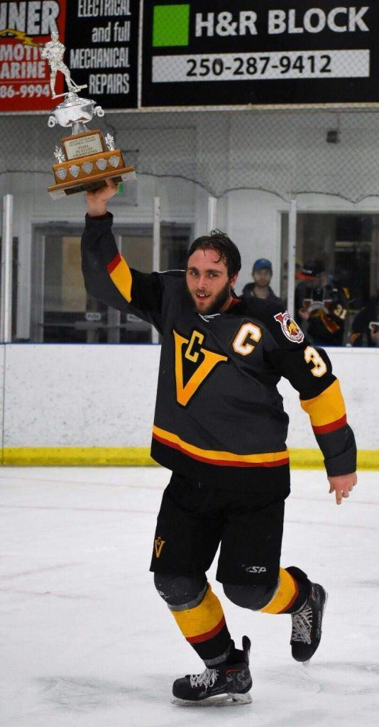 VIJHL Champs Victoria Cougars.Photos by Corey Shaw ISN