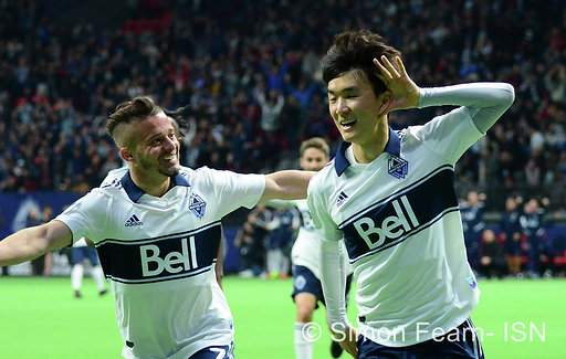 MLS Vancouver Whitecaps vs LAFC April 17 2019  BC Place  Copyright Simon Fearn ISN