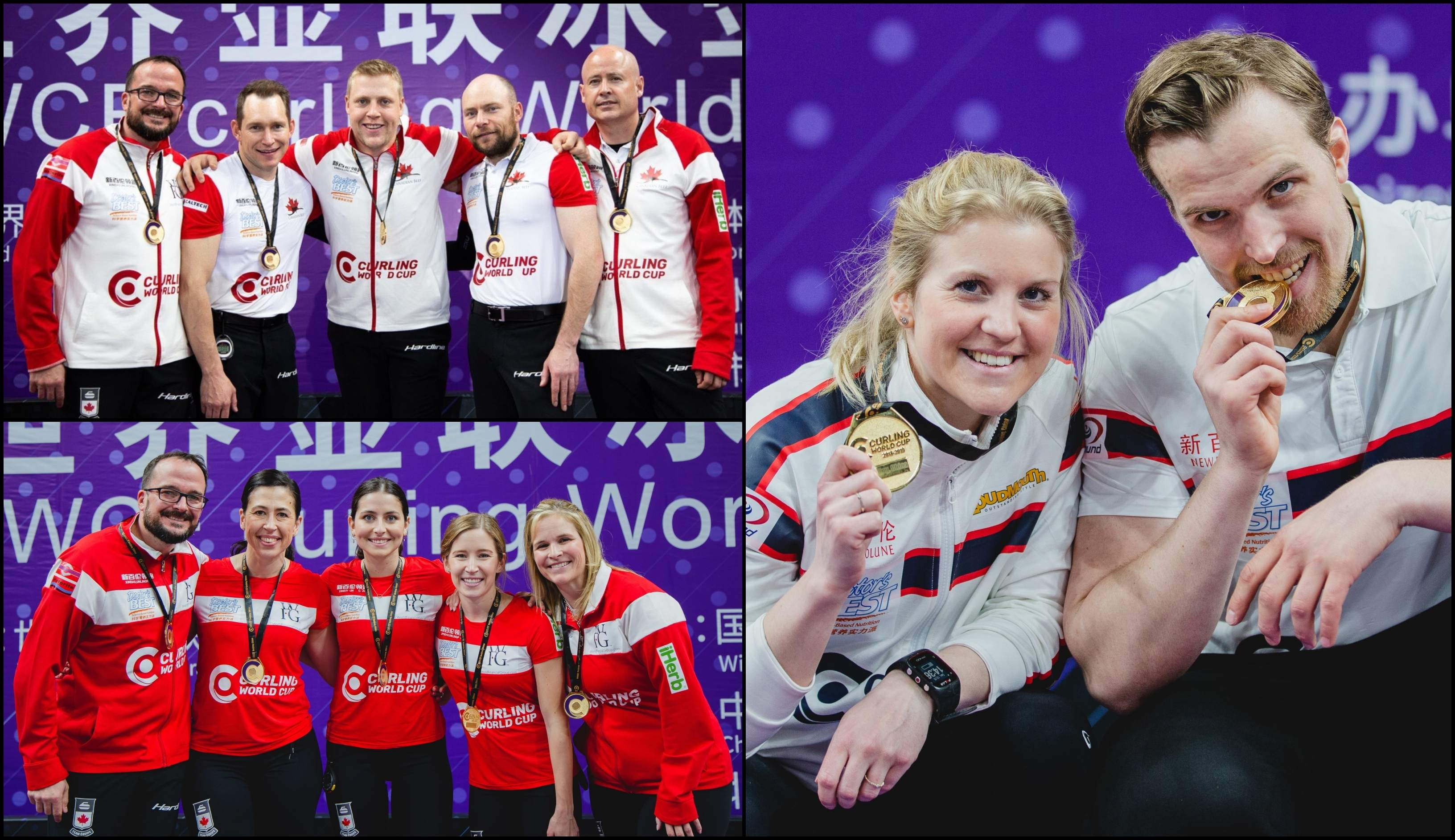 Canada's Jones and Koe win Curling World Cup Grand Final1