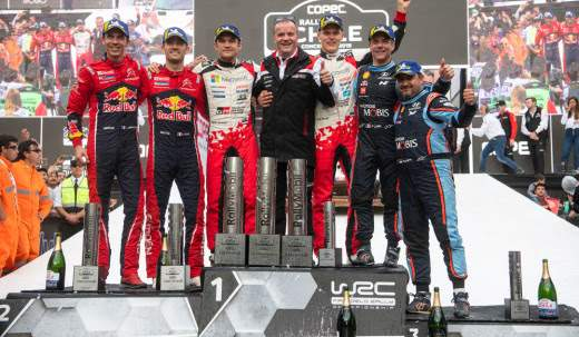 Dominant Rally Chile victory boosts Ott Tänak's WRC title challenge1