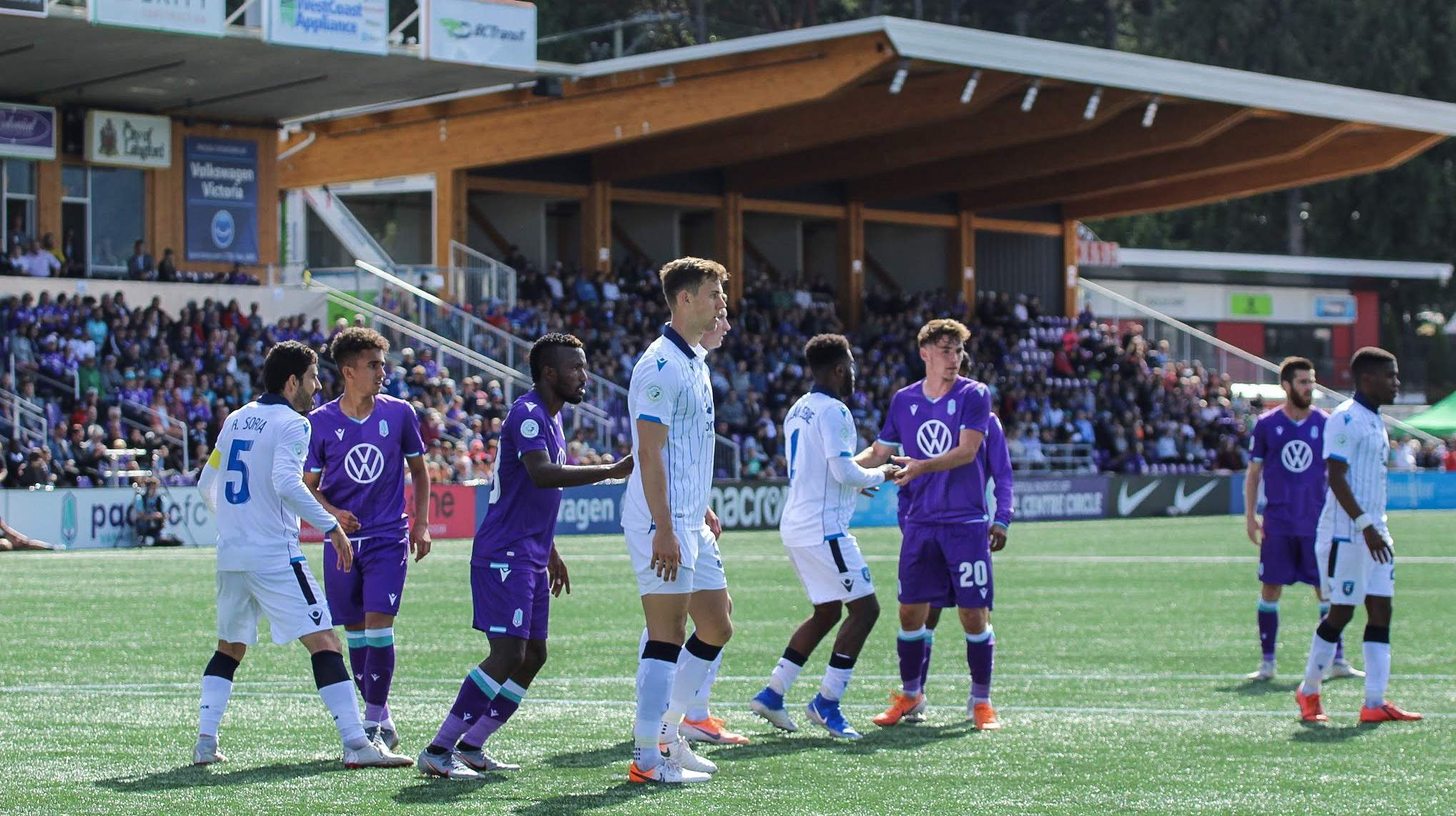 Pacific FC  vs FC Edmonton 23/06/19. Photo by ISN Nathanael Laranjeiras