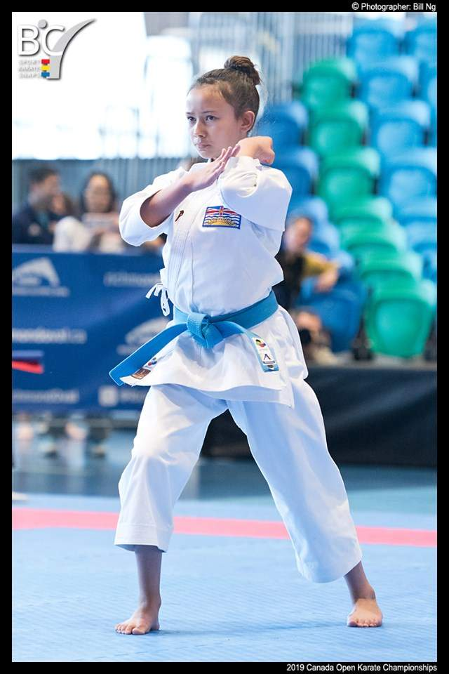 Olivia Brodie Photo BC Sport Karate Snaps