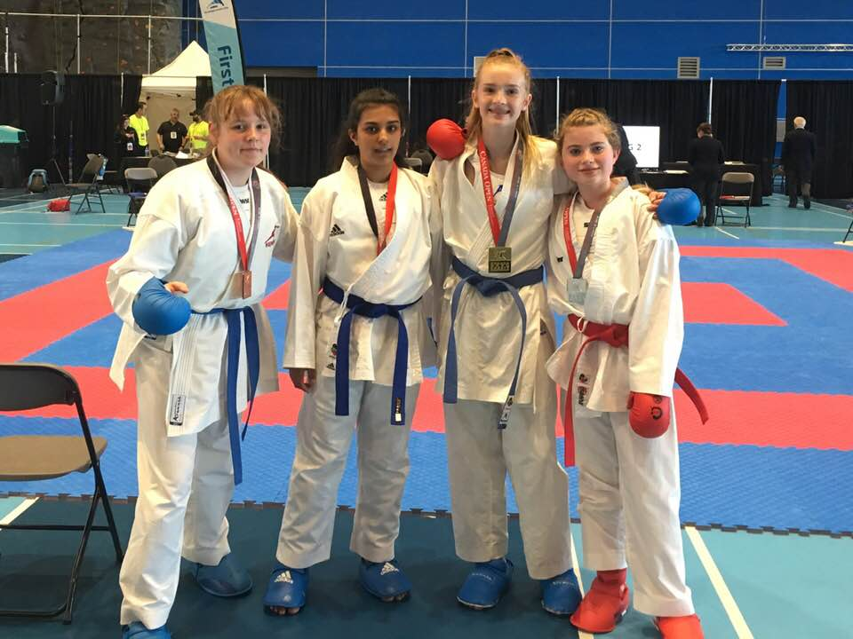 16 Medals for Victoria Karate Club at the 2019 Canada Open