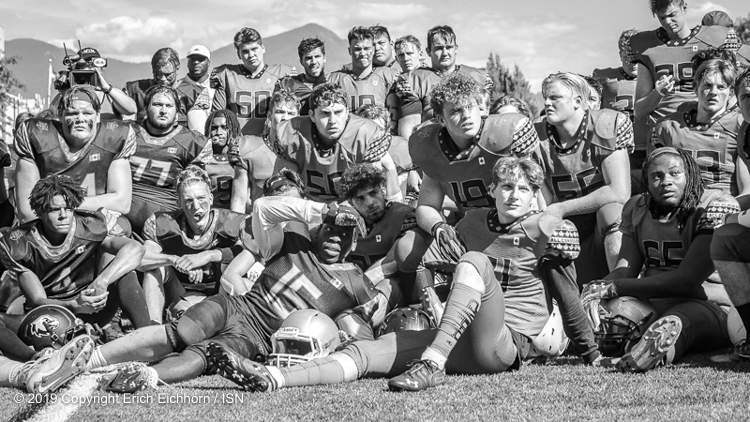 July 21, 2019  Chilliwack, BC (ISN) - Football fans had the chance to see some of Canada's finest high school players in an East-West match up Saturday in Chilliwack as All Canadian Gridiron hosted the All Canadian Bowl at Exhibition Stadium.