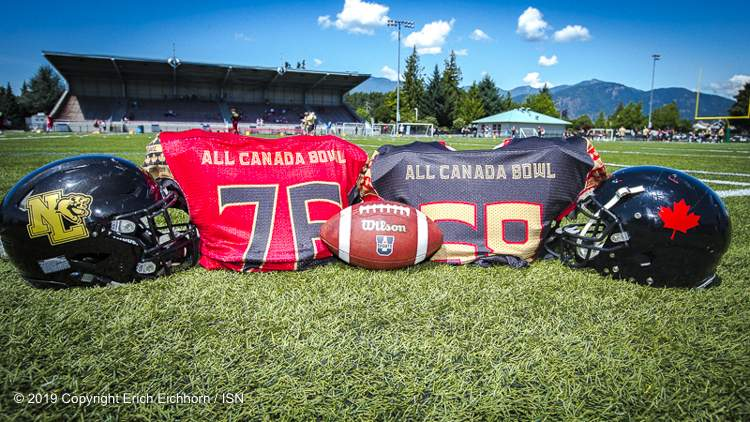 July 21, 2019  Chilliwack, BC (ISN) - Football fans had the chance to see some of Canada's finest high school players Saturday in Chilliwack as All Canadian Gridiron hosted the All Canadian Bowl at Exhibition Stadium.