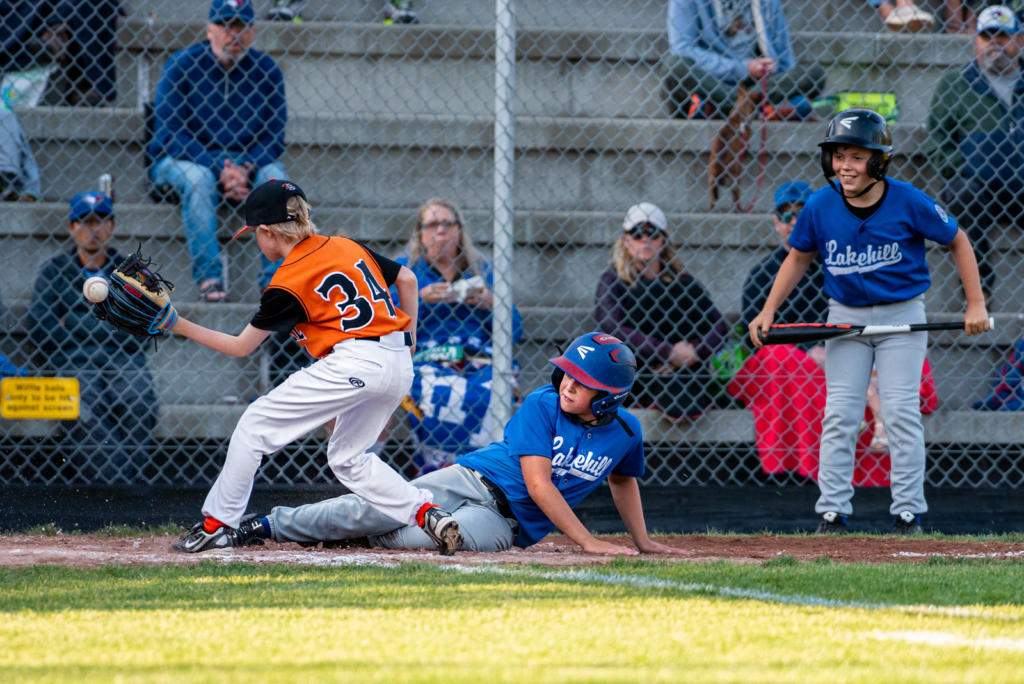 Lakehill defeated Beacon Hill 8-4 in 5 1/2 inning to now go 3-1 in the tournament. Photo by Gord Rufh ISN Sports