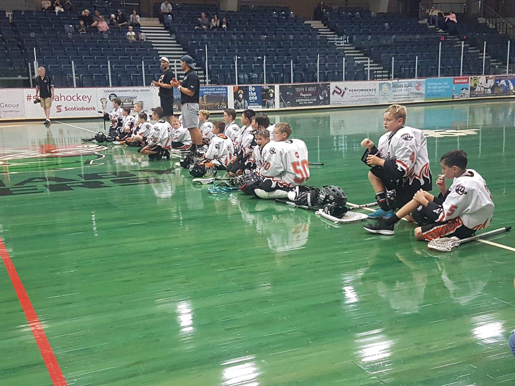 Saanich Tigers Novice Selects