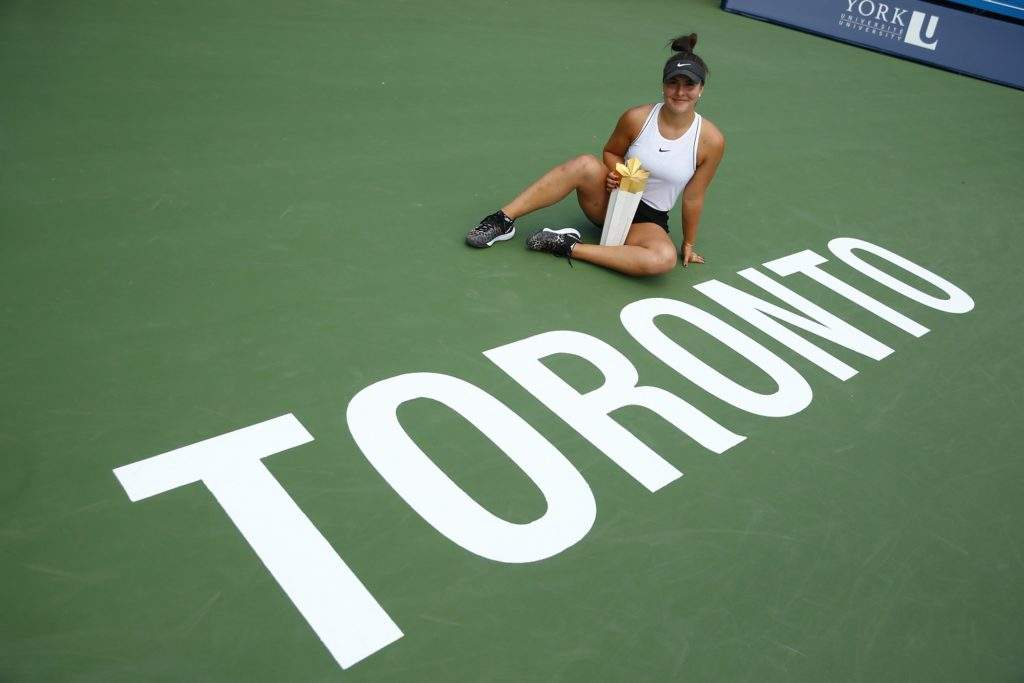 Sunday, August 11, 2019 - XXX plays XXX in finals of Rogers Cup presented by National Bank at the Aviva Centre in Toronto, Ontario. (Jared Wickerham/Tennis Canada)