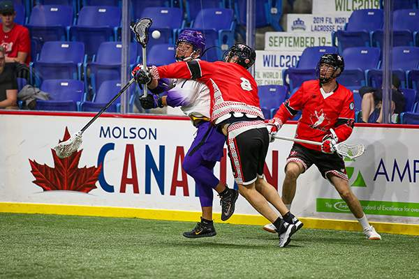 Canada and the Iroquois Nationals are set to clash to lay claim to the Cockerton Cup.Photos courtesy of Vancouver Sports Pictures