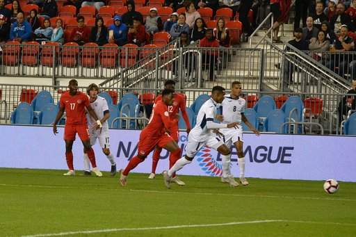 Canada vs Cuba photo by Les Smith ISN