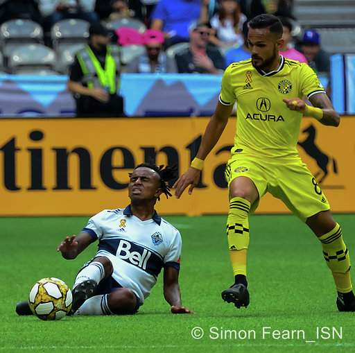 MLS Whitecaps vs Columbus Crew BC Place  Sept 21, 2019 Copyright Simon Fearn