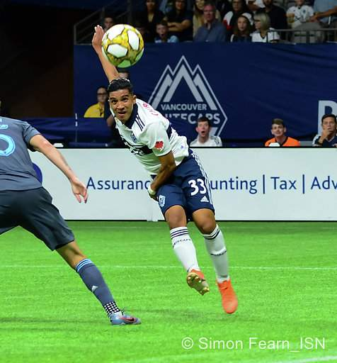 MLS  Whitecaps vs NYC FC BC Place  Aug 31, 2019 Copyright Simon Fearn
