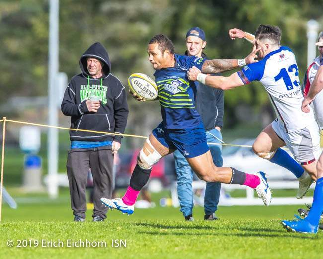 October 19, 2019 Victoria, BC (ISN) - - Erich Eichhorn (www.allsportmedia.ca )