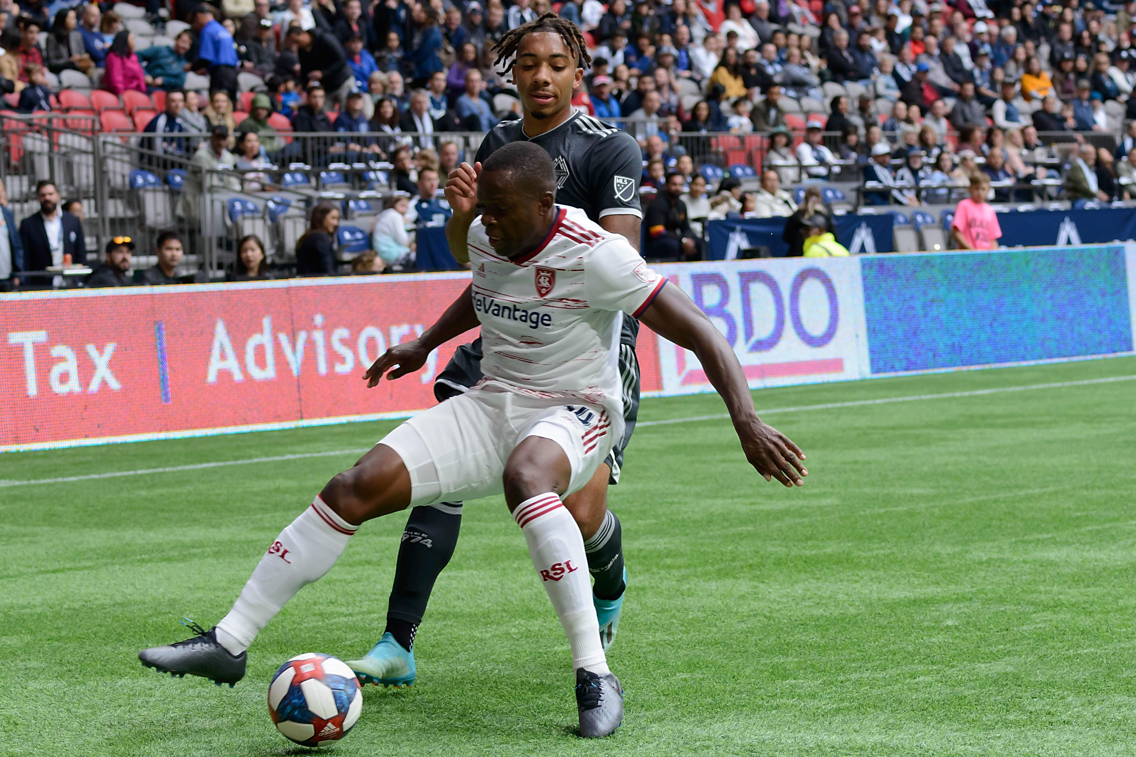 Vancouver Whitecaps FC vs Real Salt Lake in their 2019 MLS regular season finale at BC Place. Photo by Simon Fearn ISN