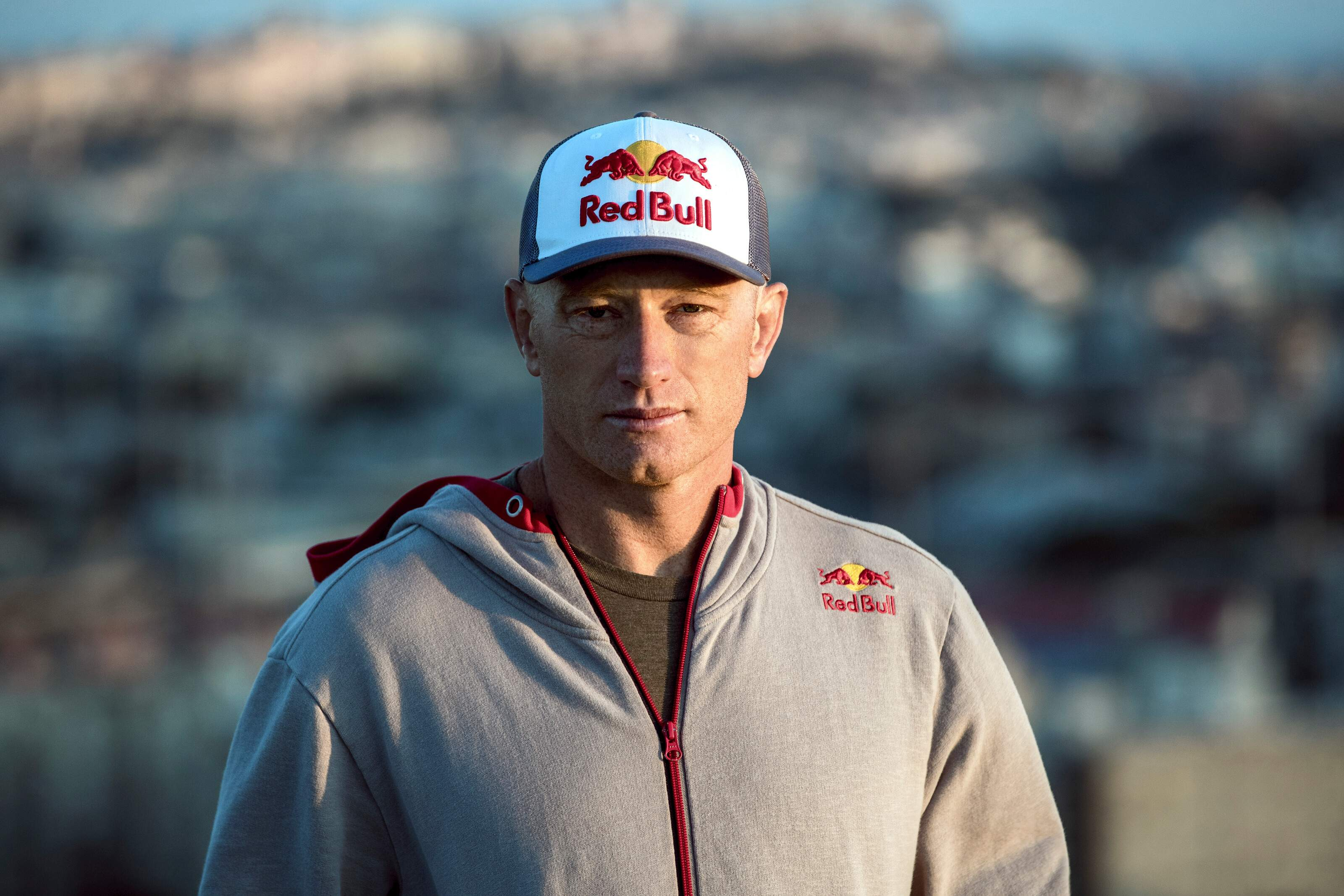 Jimmy Spithill (AUS) of team Luna Rossa Challenge poses for a portrait in Cagliari, Italy on August 14, 2019. Photographer Credit: Samo Vidic/Red Bull Content Pool