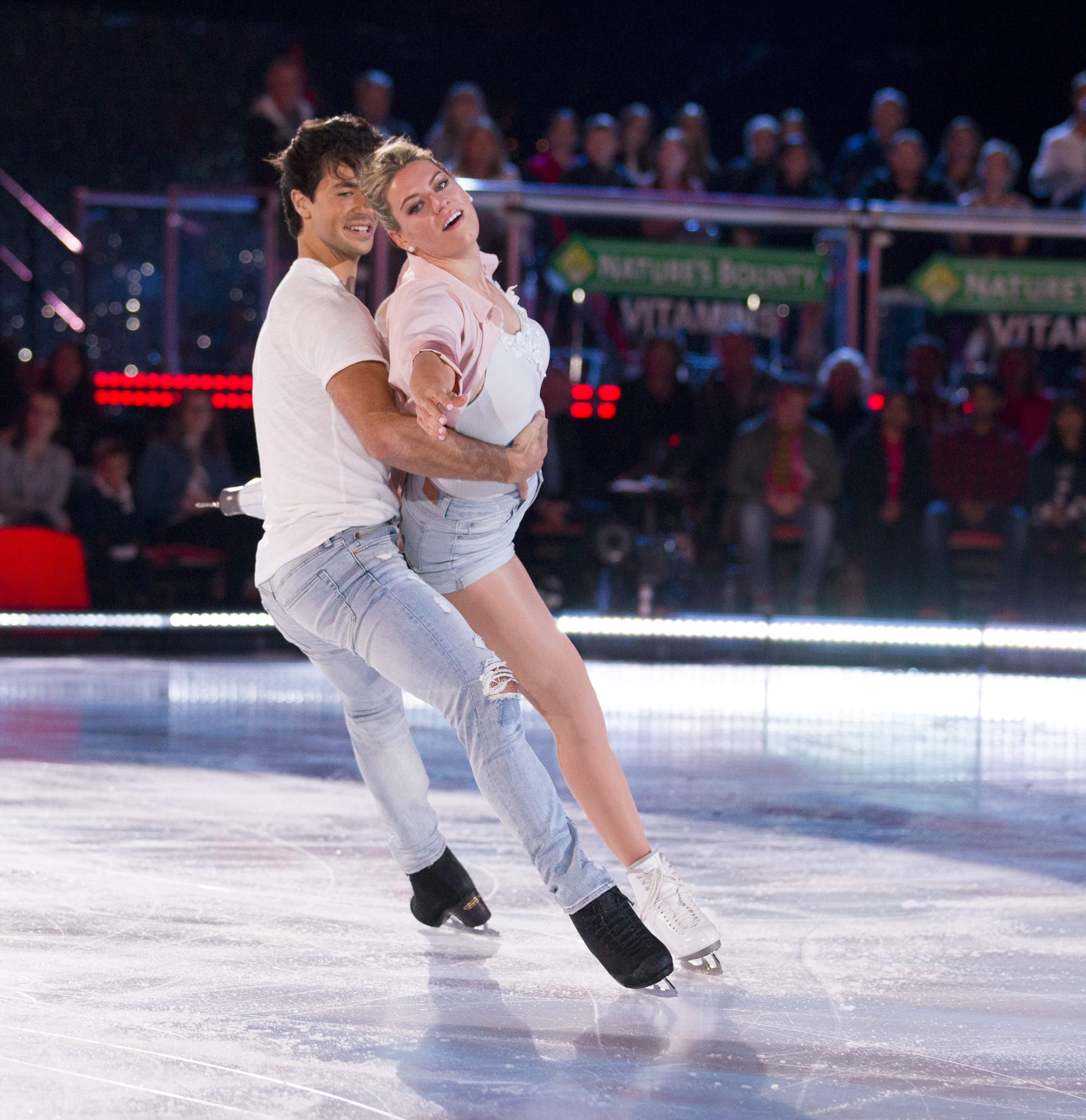 Natalie Spooner and Andrew Poje