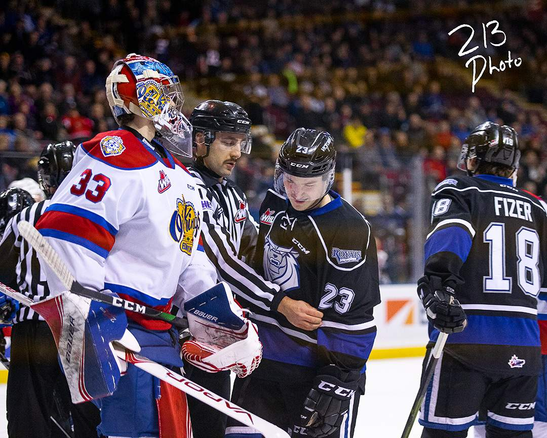 Edmonton Oil Kings vs Victoria Royals. Photo by Nathanael Laranjeiras
