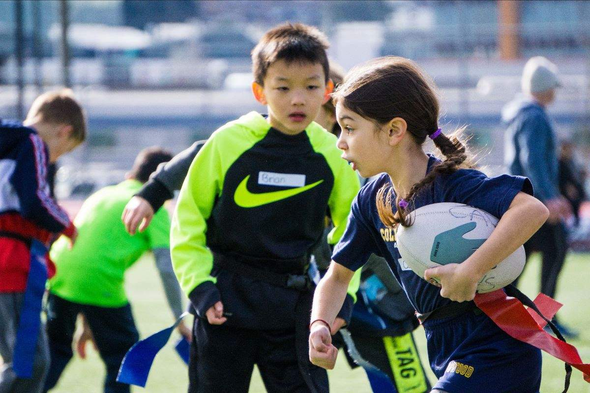 Hundreds of schoolchildren across Vancouver get the chance to try Rugby for the first time