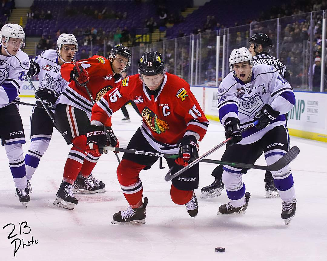 Royals vs Winterhawks. Photo by Nathanael Laranjeiras ISN