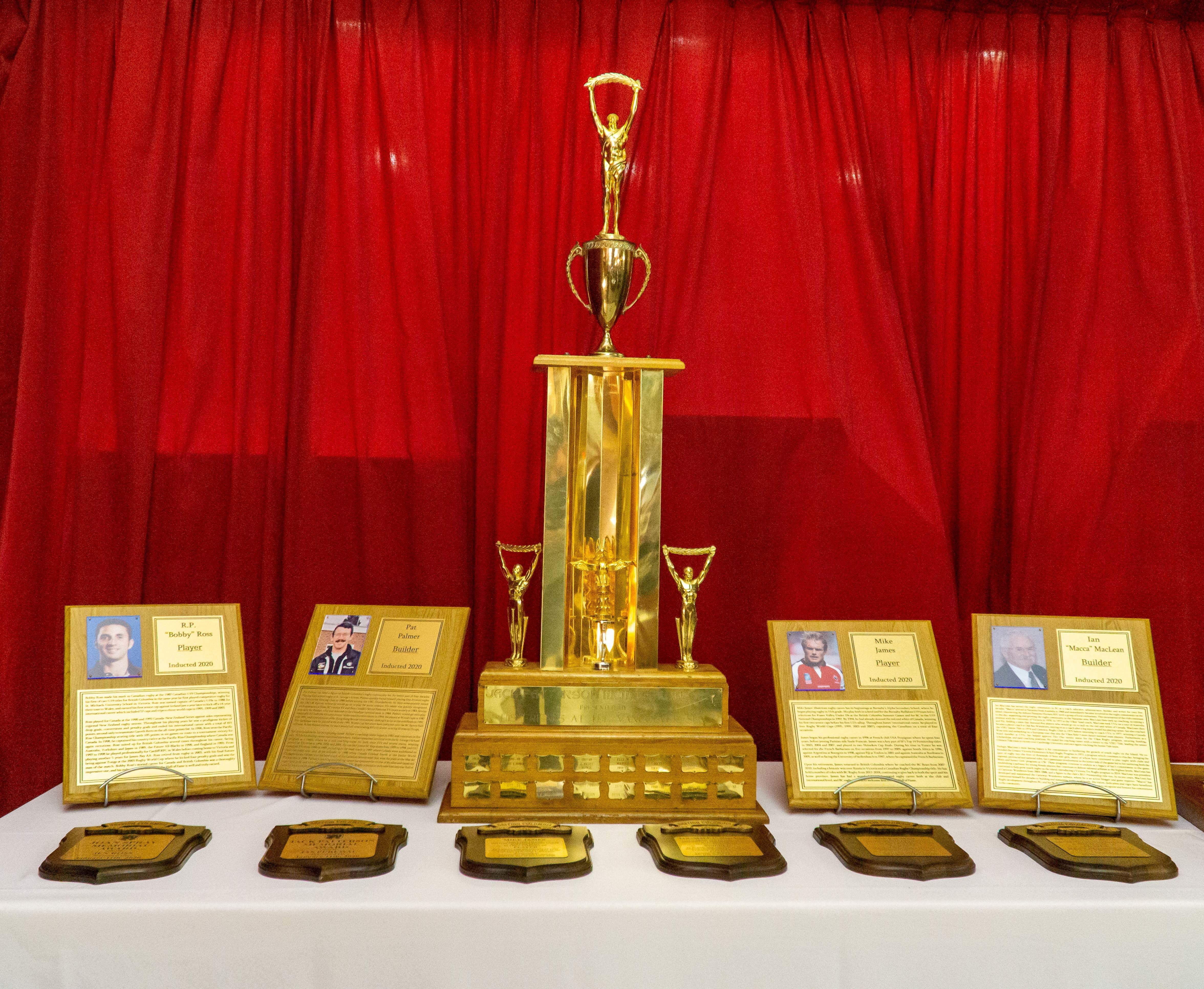 Class of 2020 Inducted into the BC Rugby Hall of Fame