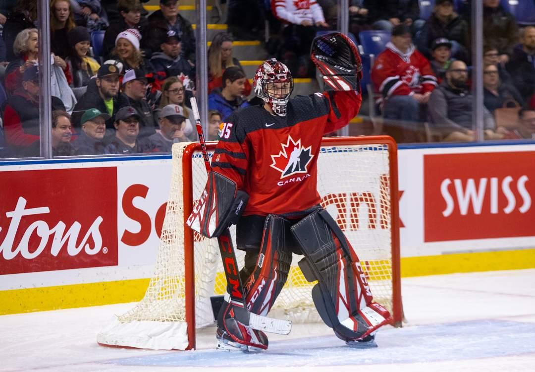 Canada vs USA Women's Hockey  Photo by Nathanael Laranjeiras ISN