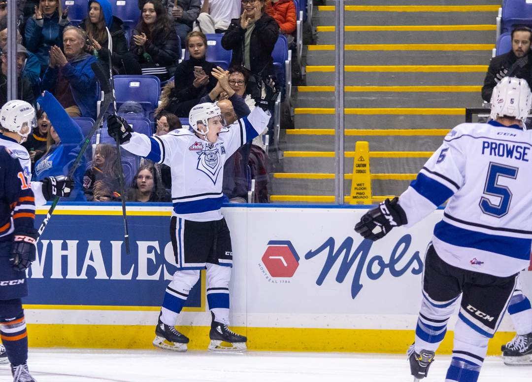 Royals' Gary Haden celebrates after scoring the 2nd goal of the game. Photo by Nathanael Laranjeiras
