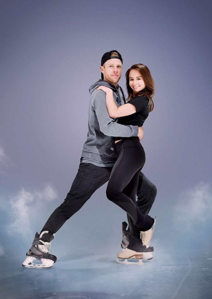 Carlotta Edwards and Kris Versteeg. Courtesy of CBC.