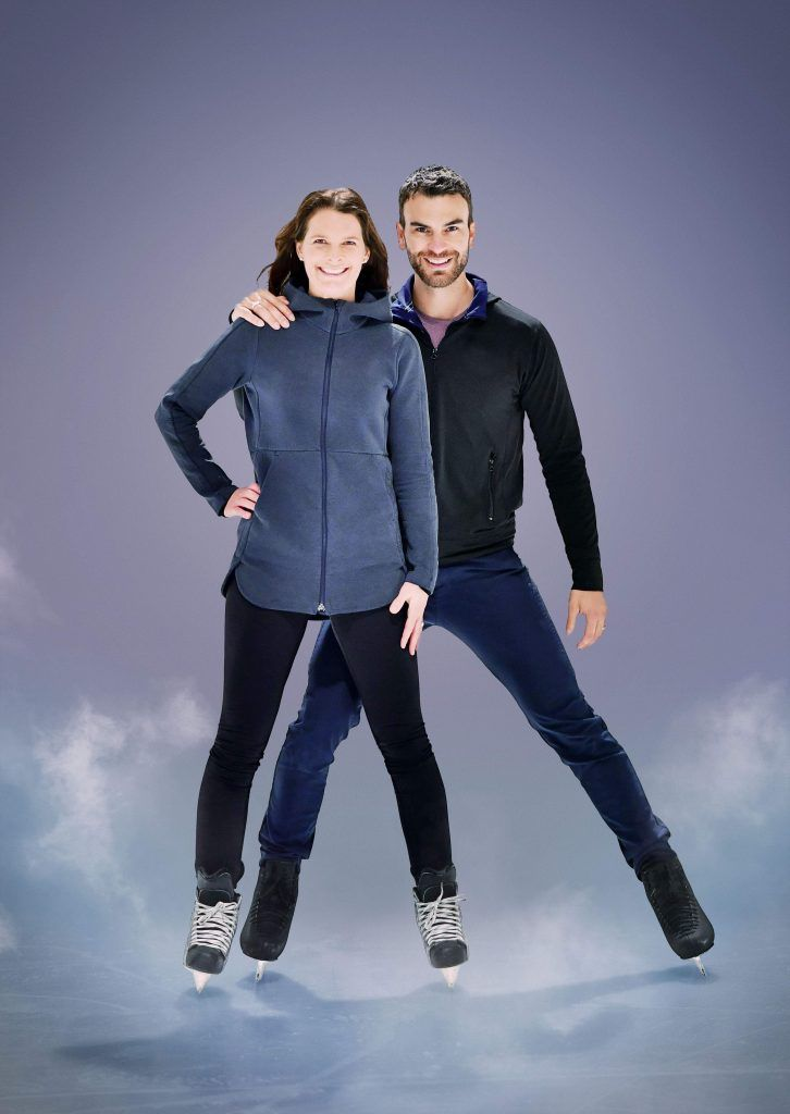 Jennifer Botterill and Eric Radford. Courtesy of CBC.
