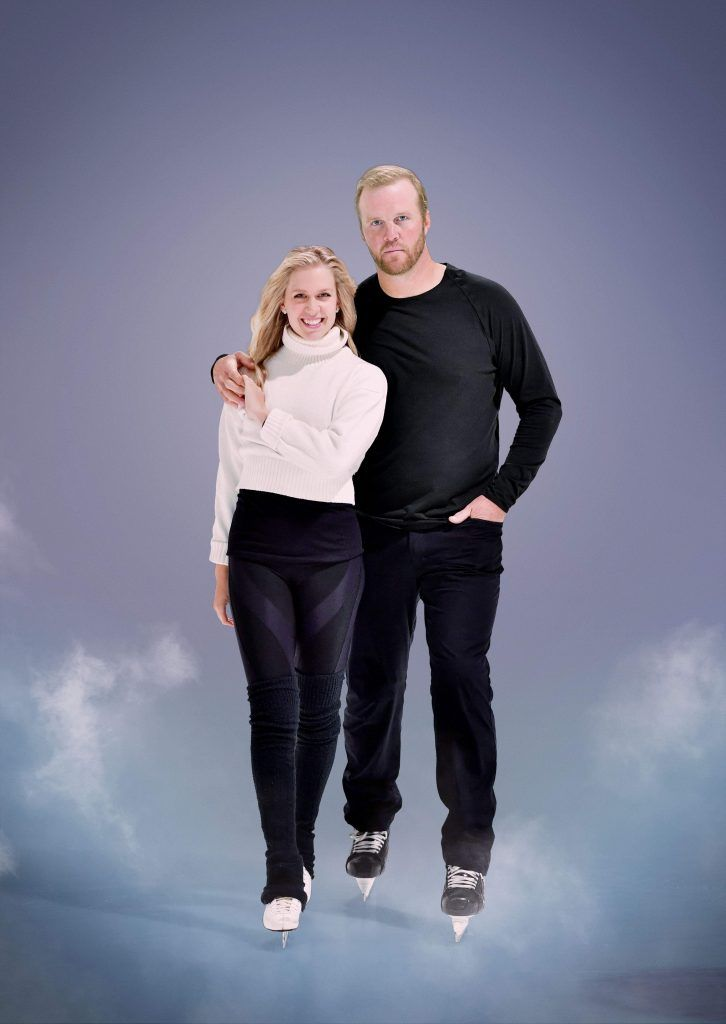 Kaitlyn Weaver and Bryan Bickell. Courtesy of CBC.