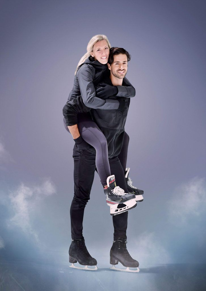 Meghan Agosta and Andrew Poje. Courtesy of CBC.