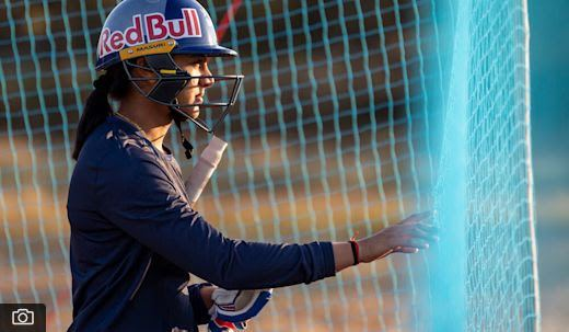 Smriti Mandhana. Photo Red Bull.