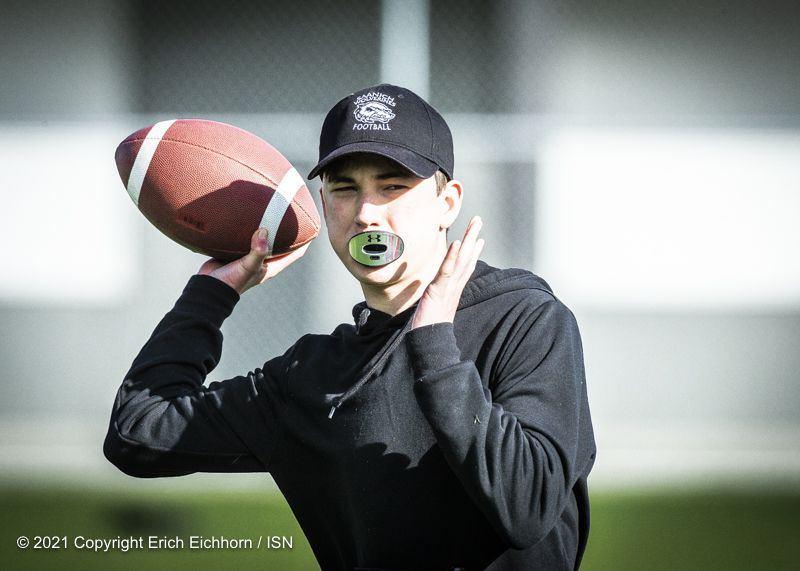 February 6, 2021 Victoria, BC (ISN) - photo by Erich Eichhorn (www.allsportmedia.ca)